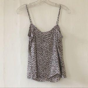 Diane Von Furstenberg Tops - Diane Von Furstenburg leopard silk jersey camisole